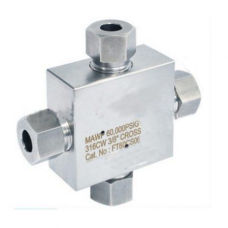 High Pressure Valves & Fittings - Cross 60k PSI