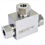 High Pressure Valves & Fittings - TEE 60k PSI